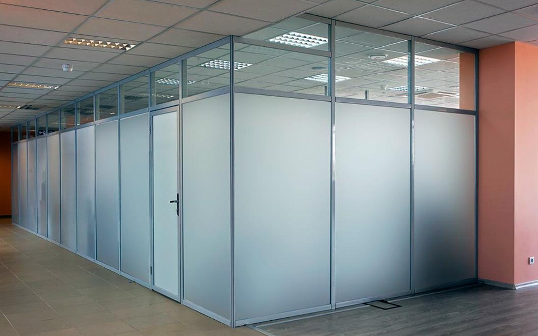 перегородки офисные стеклянные