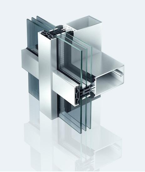 алюминиевый профиль для витражей